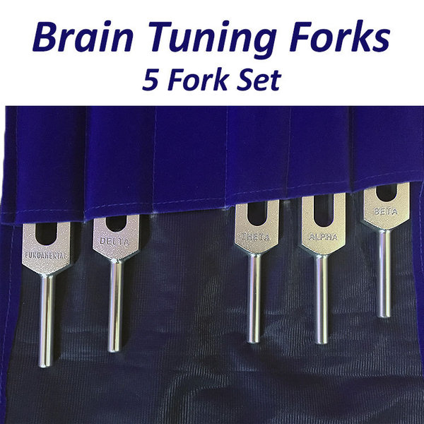 Brain Professional Tuning Fork Set (5 Forks)