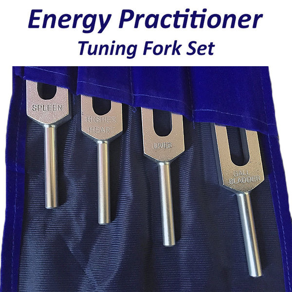 Energy Practitioner Professional Tuning Fork Set