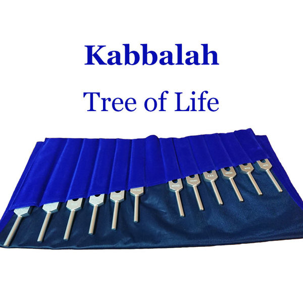 Kabbalah Tree of Life Tuning Fork Set