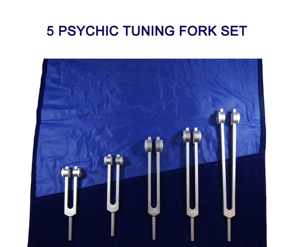 5 Psychic Tuning Fork Set