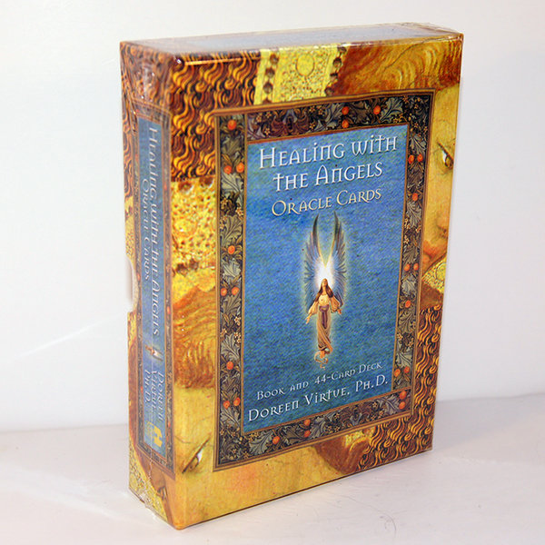 Healing With The Angels Oracle Cards - HALF PRICE SALE